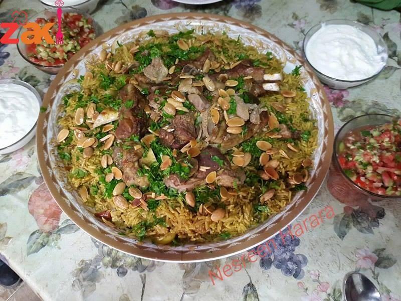 طريقة رز القدرة الخليلية الاحترافية زاكي Food Receipes Recipes Rice Dishes