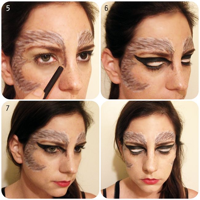 Halloween DIY Costume: Werewolf | Hair and Makeup | Pinterest ...