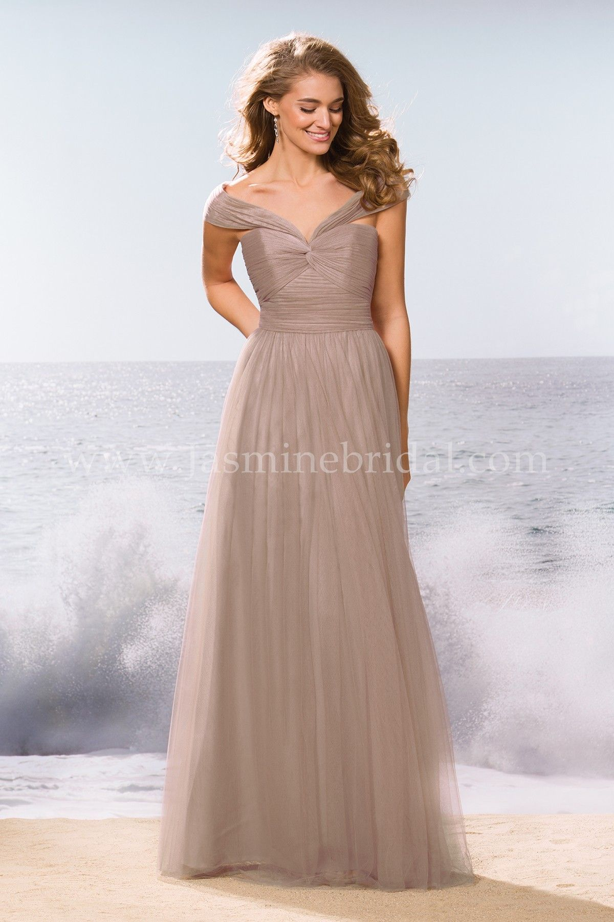 Jasmine bridal bridesmaid dress belsoie style l174063 in sandbar jasmine bridal bridesmaid dress belsoie style l174063 in sandbar a youthful soft tulle dress ombrellifo Images