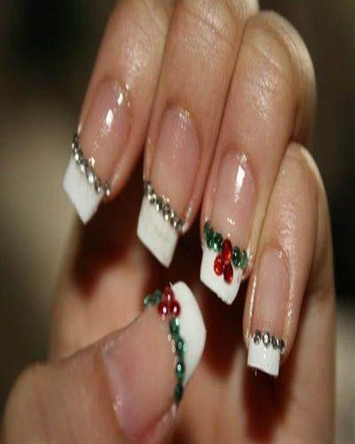 Christmas Nail Art Designsg 400500 Pixels Nails Pinterest