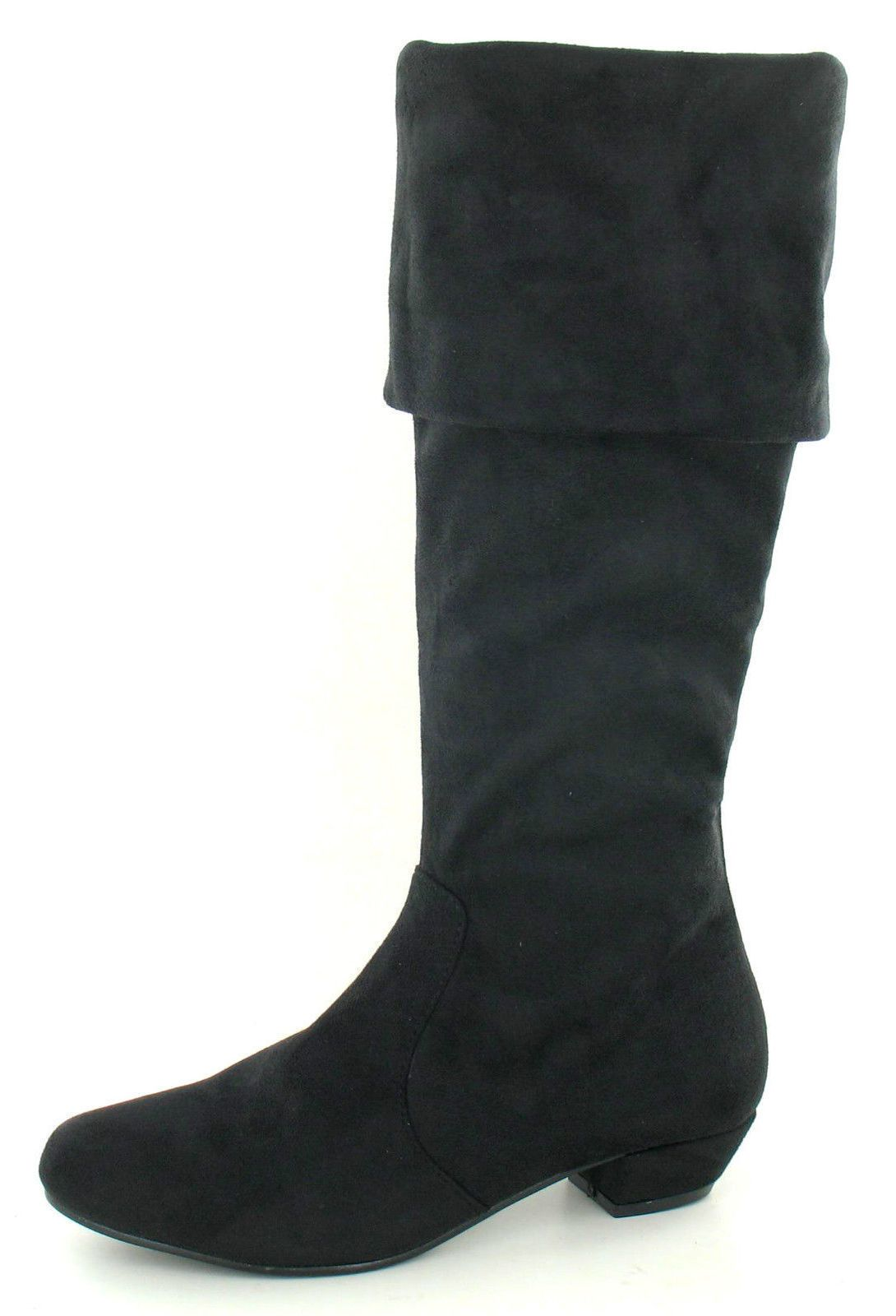 Sale Was 19.99 Now Ladies Spot On Textile Long Boots F50202