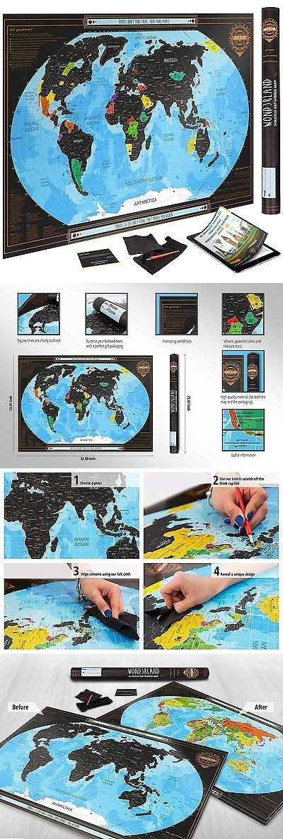 Other travel maps 164807 scratch map with us states premium other travel maps 164807 scratch map with us states premium scratch off world gumiabroncs