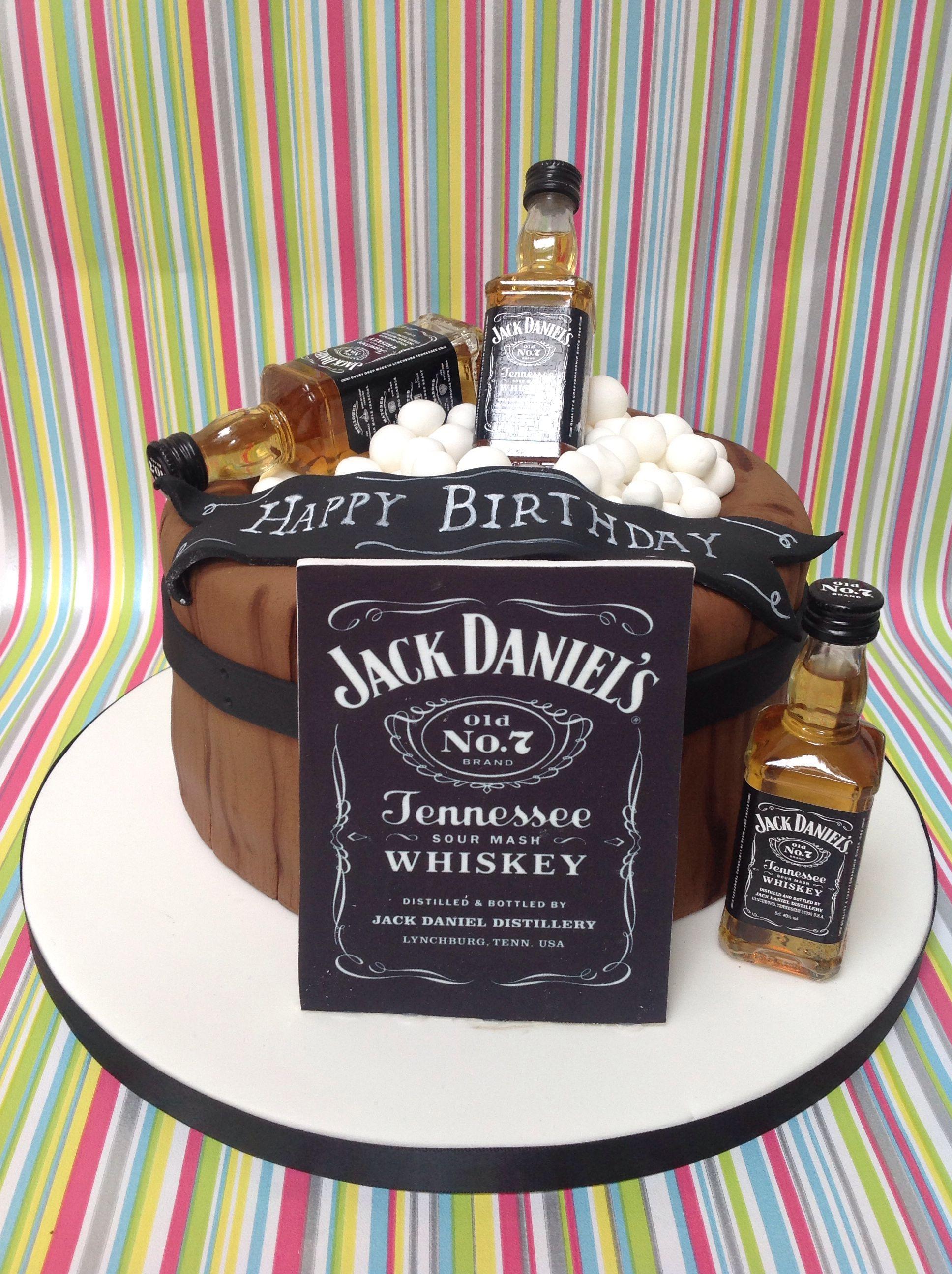Jack daniels cake birthday cakes for men jack daniels