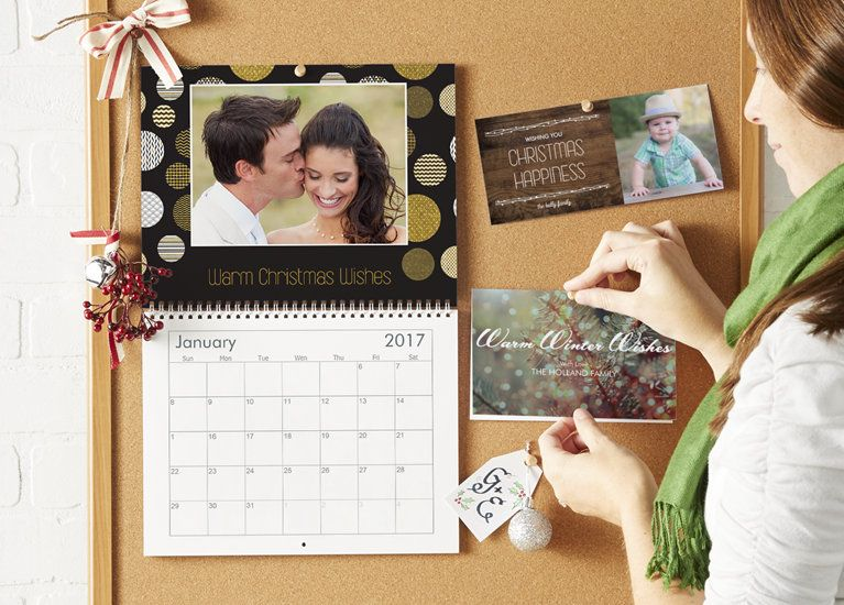 Calendrier Vistaprint 2021 Custom holiday cards from @Vistaprint | Custom holiday card, Photo
