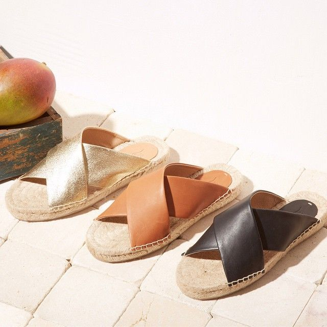 6234719c792 Slide by Slide. Our Criss Cross Sandals Lined Up #springstyle ...