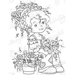 Wee Stamps - Wee Florist