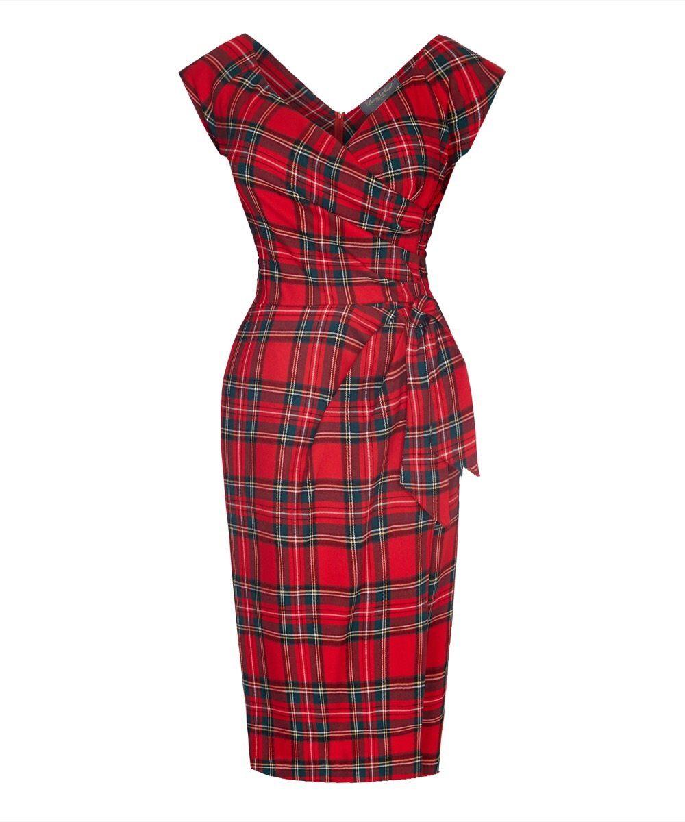 Pin By Polder Pins On Plaid In 2021 Tartan Dress Bombshell Dress Red Tartan Dress [ 1200 x 1000 Pixel ]