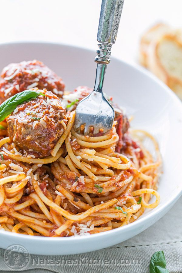 how to make tasty meatballs for spaghetti