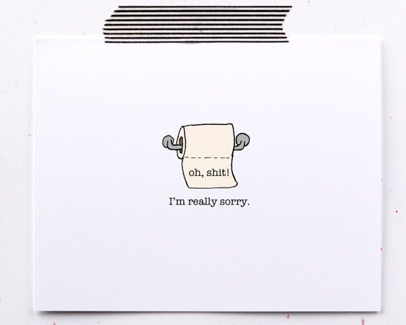 Diy Sorry Card With Images Apology Cards Im Sorry Cards