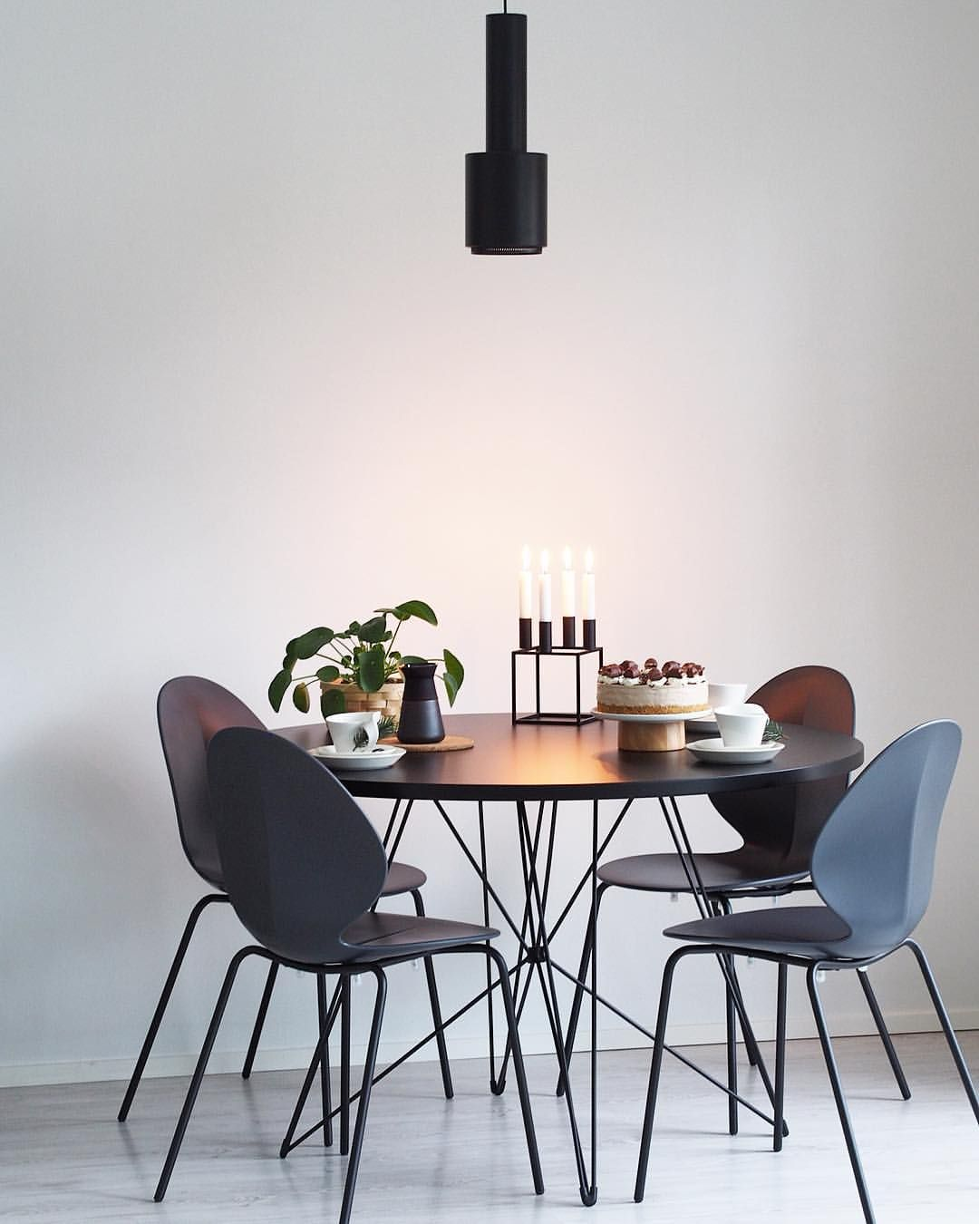 Calligaris Basil Chairs And Magis Tolomeo Xz3 Table Dining Room