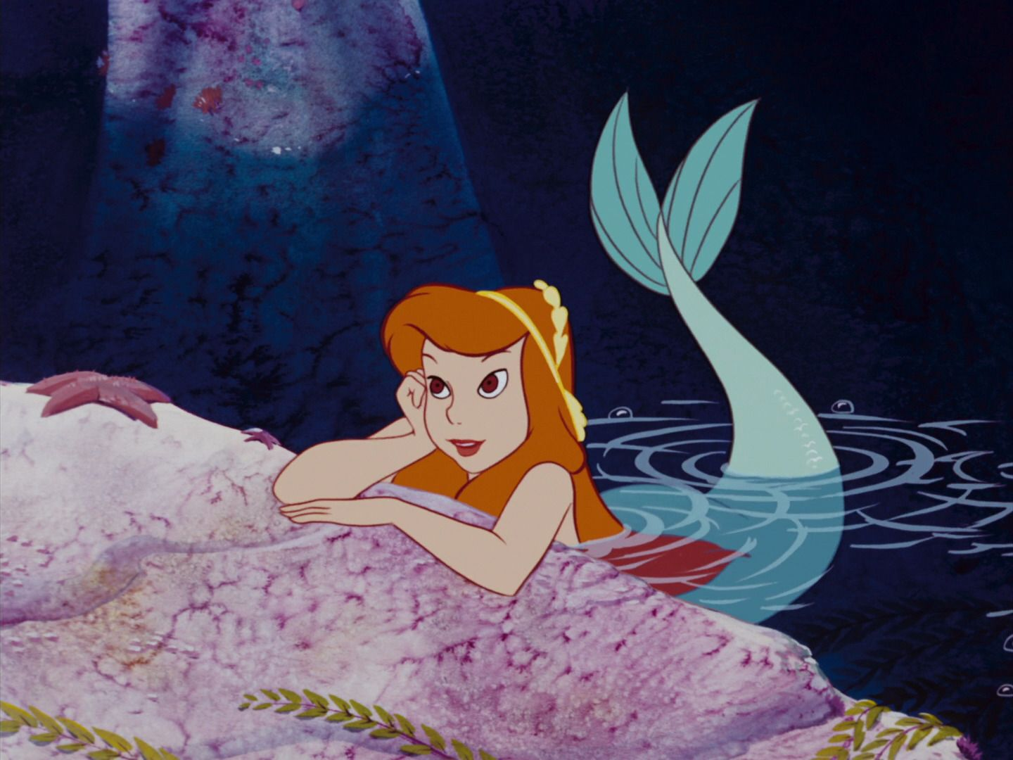 Mermaids Peter Pan Disney 1953