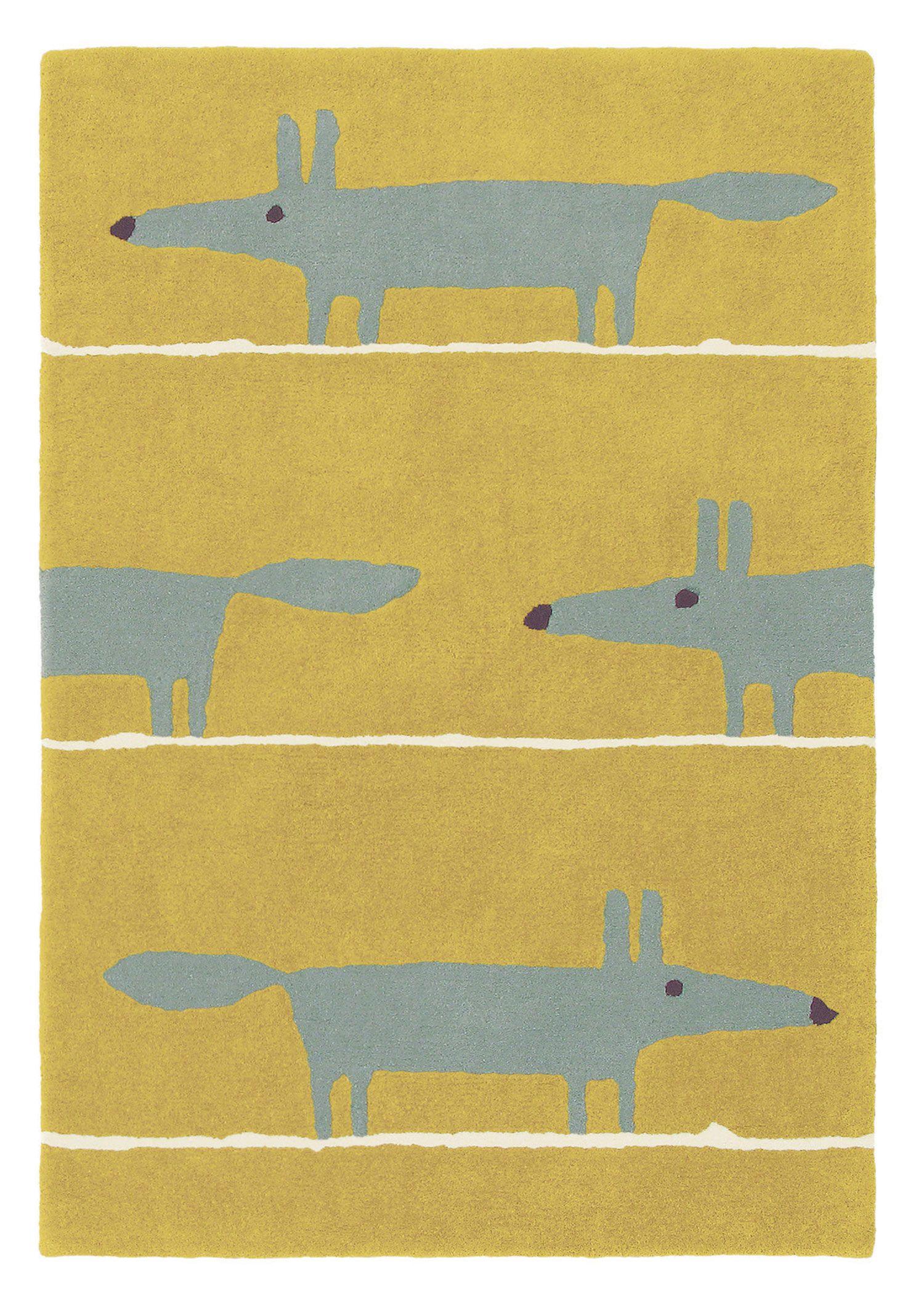 Scion mr fox mustard rug childus play pinterest mr fox scion