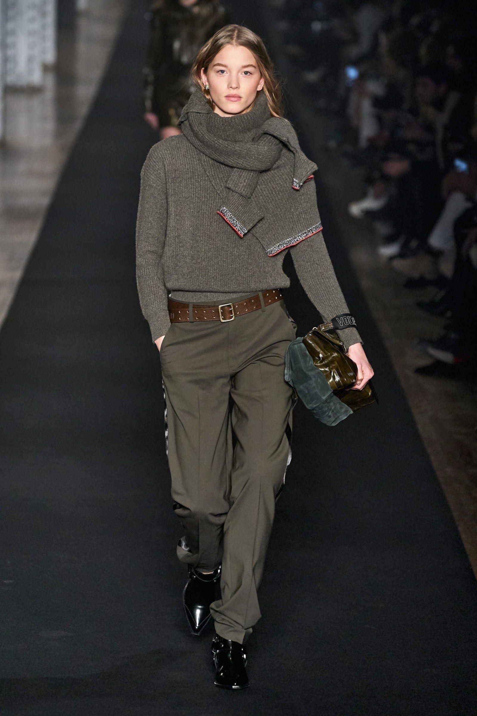 Zadig & Voltaire Abbigliamento Autunno-Inverno 2019-2020 – Sfilata di moda | Vogue Paris -…