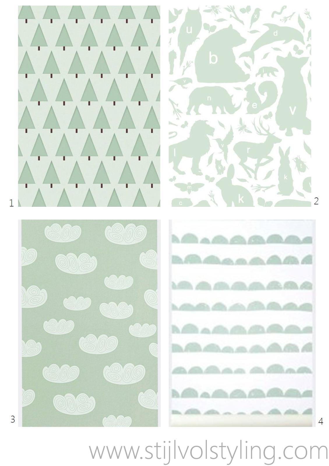 Kleur  Inspiratie voor de Babykamer & Kinderkamer in mintgroen www.stijlvolstyling ...