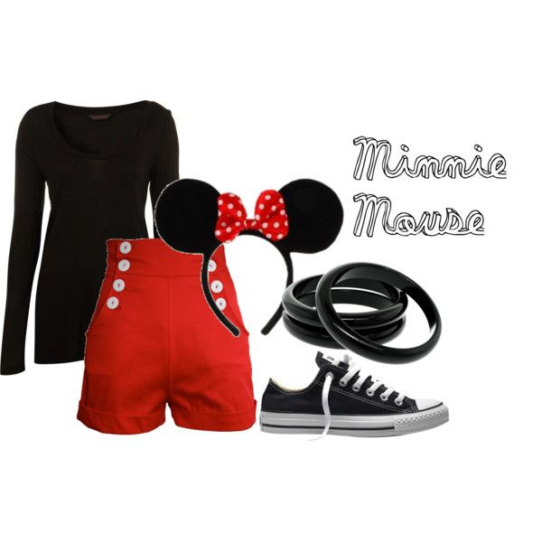 Minnie mouse costume idea