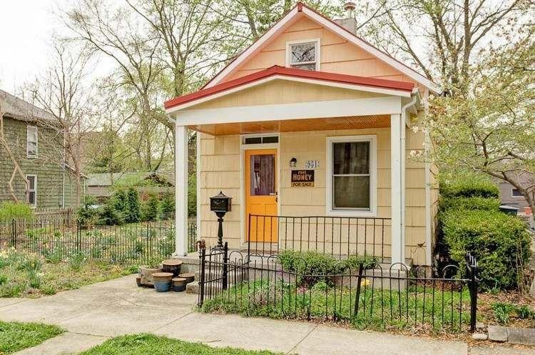 Petite maison bois en 18 idées d\u0027aménagement fonctionnel Tiny