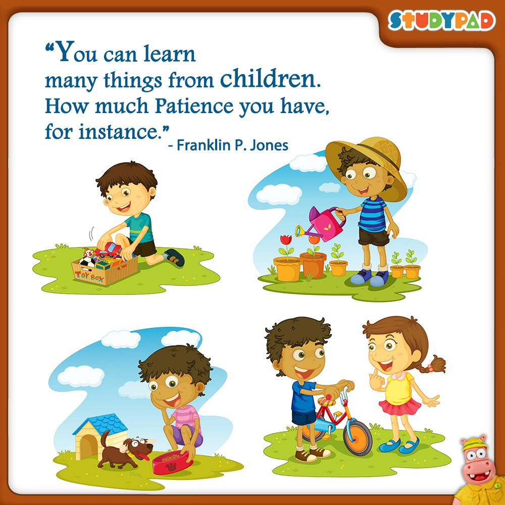 patience quotes for kids - 736×736