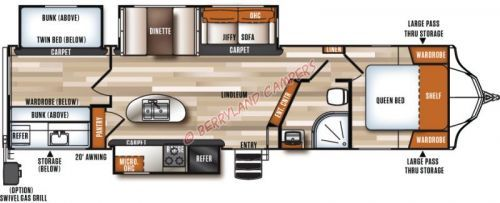 New Forest River Towable 2018 Forest River Vibe 313bhs Forest