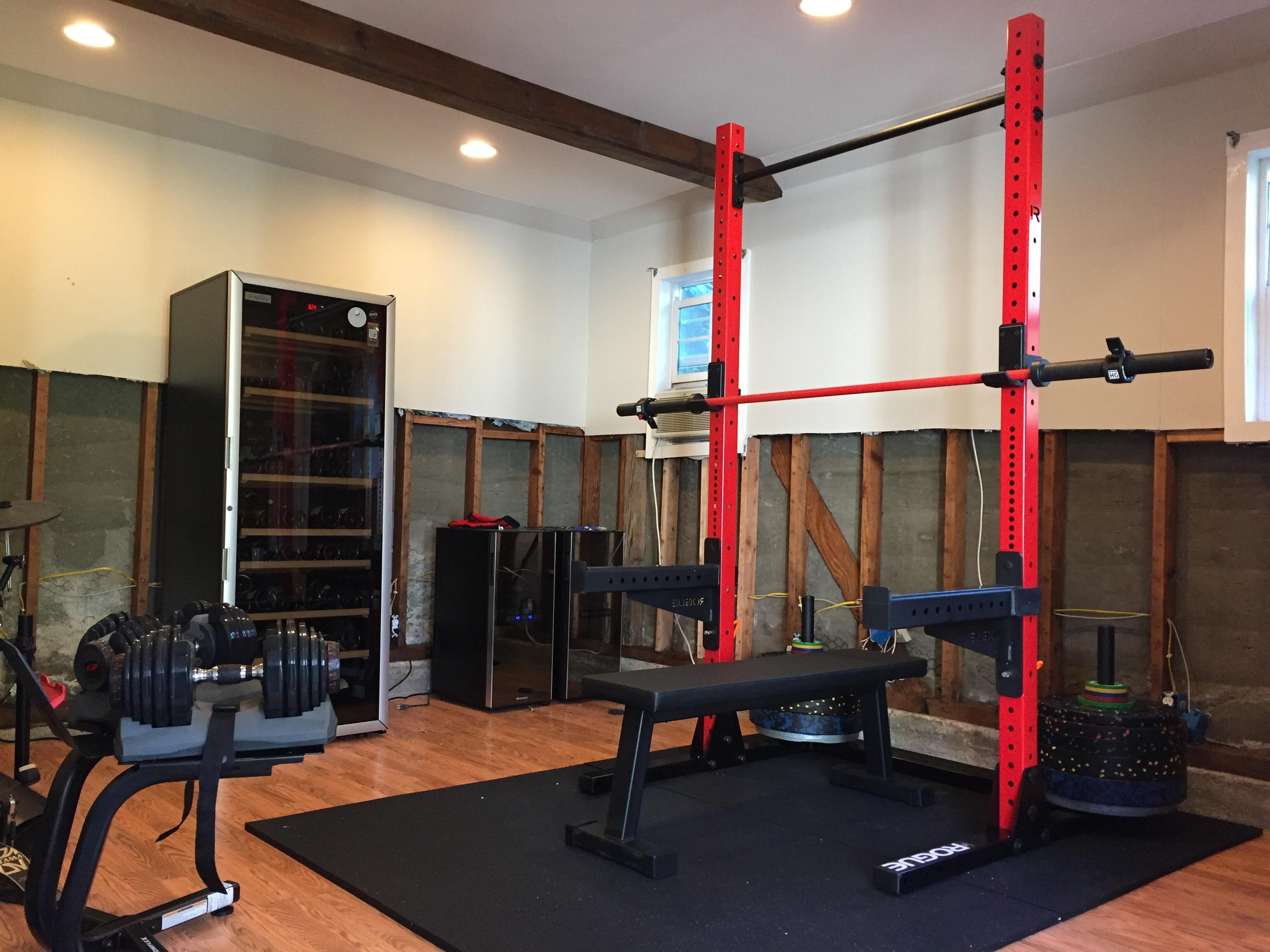 Black Friday Squat Rack And Bumpers Arrived And Set Up Squat