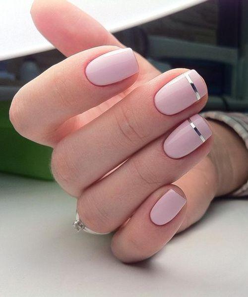 Line Art Ist Der Einfachste Maniküre-Trend Dieser Saison Line Art ist der einfachste Maniküre-Trend dieser Saison Nail Desing nail design nyc