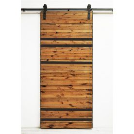 Dogberry Collections Line 'Em Up 3-Ft X 6-Ft 9.6-In Sliding Barn Door