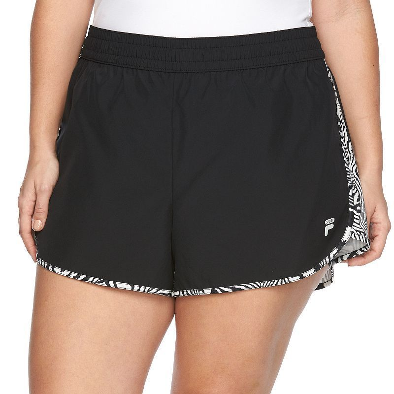 154e1567c976 Plus Size FILA SPORT® Eclipse Running Shorts