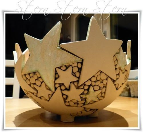 25 ingenious craft ideas for DIY gifts for Christmas #ceramicpottery