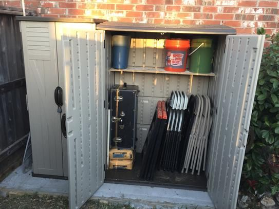 8 In X 4 Ft 5 6 Large Vertical Storage Shed
