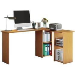 Vcm my office Lusia's desk beech rectangular