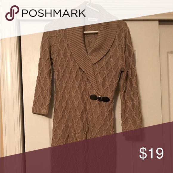 Selling this Calvin Klein Sweater Dress on Poshmark! My username is: sarahoagey. #shopmycloset #poshmark #fashion #shopping #style #forsale #Calvin Klein #Dresses & Skirts