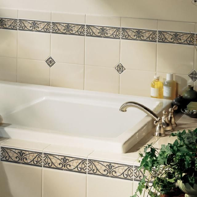 Tiles With Borders: 30 Bathroom Tiles You Will LOVE