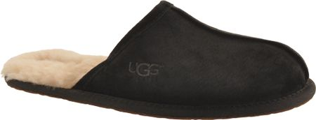 88ac2eb60b2d Men s UGG Scuff Slipper - Black with FREE Shipping   Exchanges. The  ultimate in cozy comfort for wearing around the house or for traveling in  luxury.