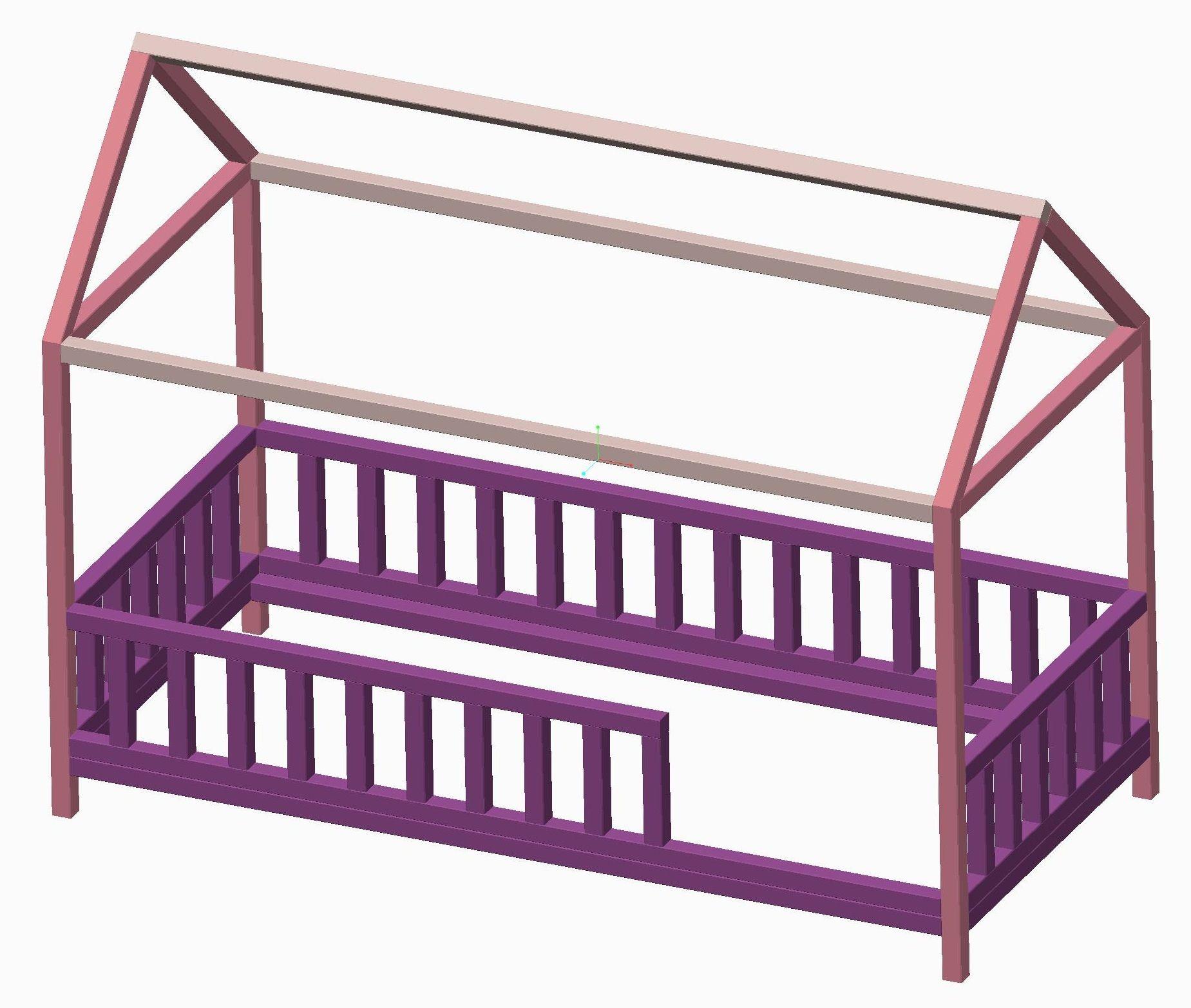 DIY Hausbett für Kinder Kinder bett haus, Kinderbett