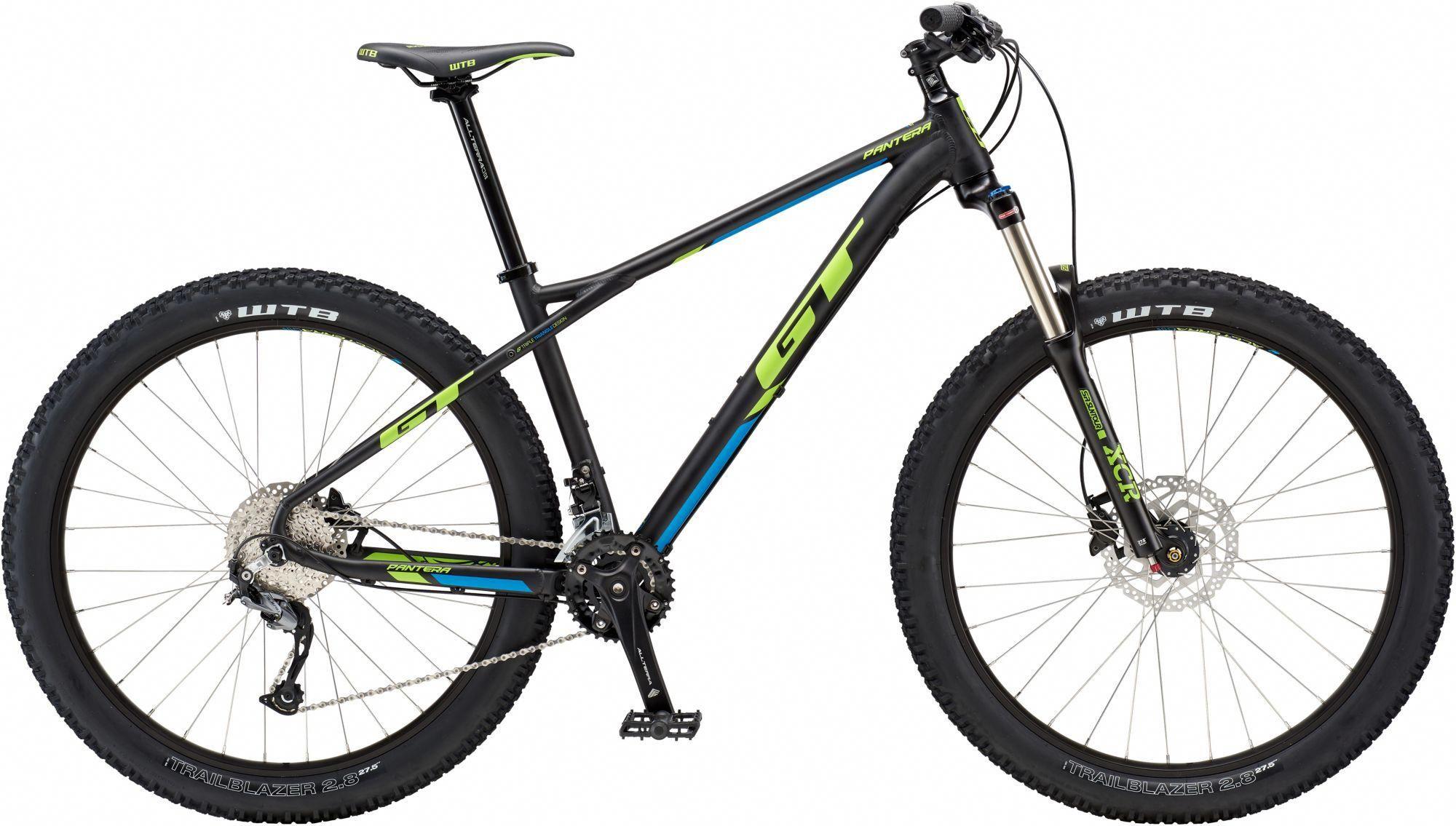 Gt Men S Pantera Comp 27 5 Mountain Bike Black Mountainbike