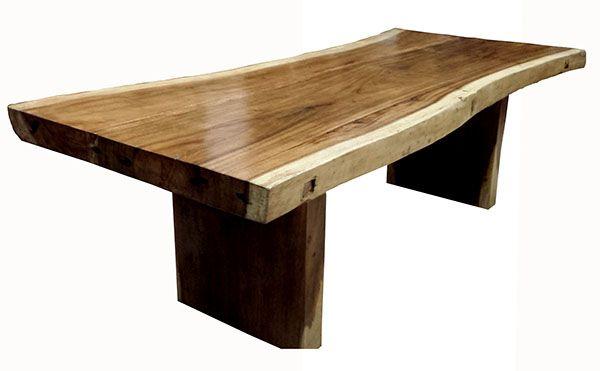 Slab Suar Wood Dining Table 4 Measurements 84 X 40 X 31 96 X 40 X 31 108 X 40 X 31 120 X 40 X 31 Wood Dining Table Wood