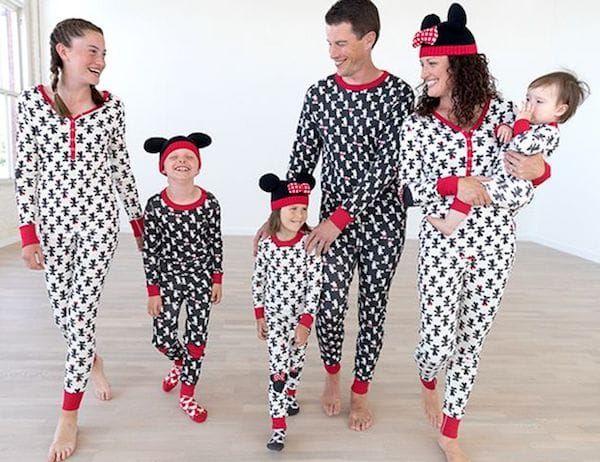 ecec1da541 Family Matching Mickey Mouse Holiday Pajamas