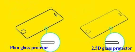 2.5D tempered screen protector