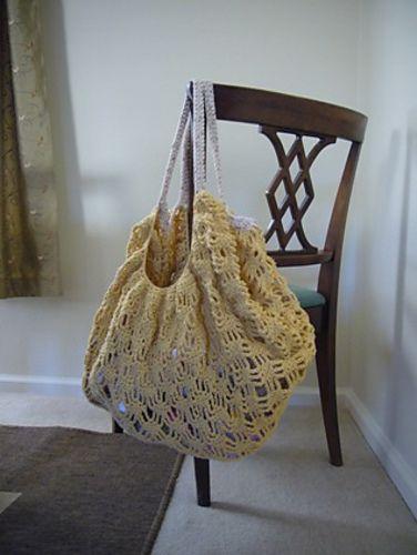 Ravelry Lily Sugarn Cream Crochet Market Bag Pattern By Lily