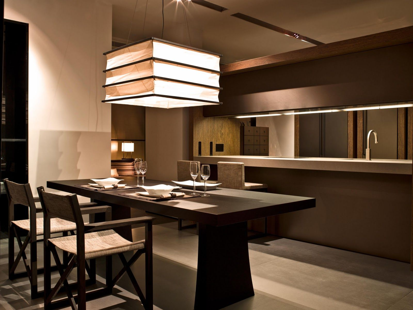 Armani casa kitchen dining the zen pinterest for Interior design for kitchen and dining