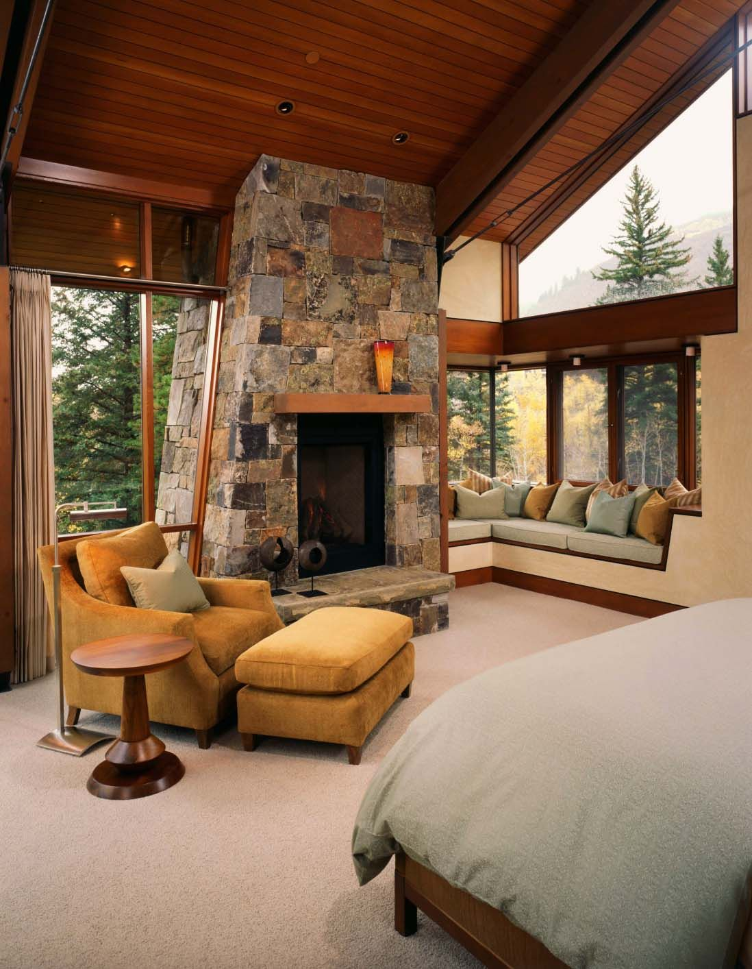 Best Modern Rustic Mountain Dwelling With Picturesque Setting 400 x 300