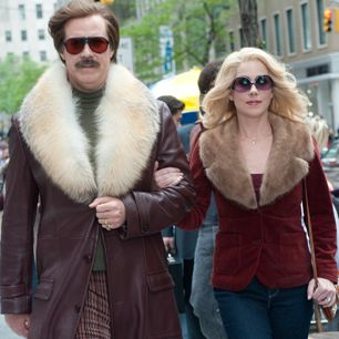 Will Ferrell and Christina Applegate as Ron Burgundy and Veronica Corningstone in u0027Anchorman The Legend Continuesu0027  sc 1 st  Pinterest & Anchorman 2u0027 Is Packed With Laughs | Rollingstone magazine and Movie