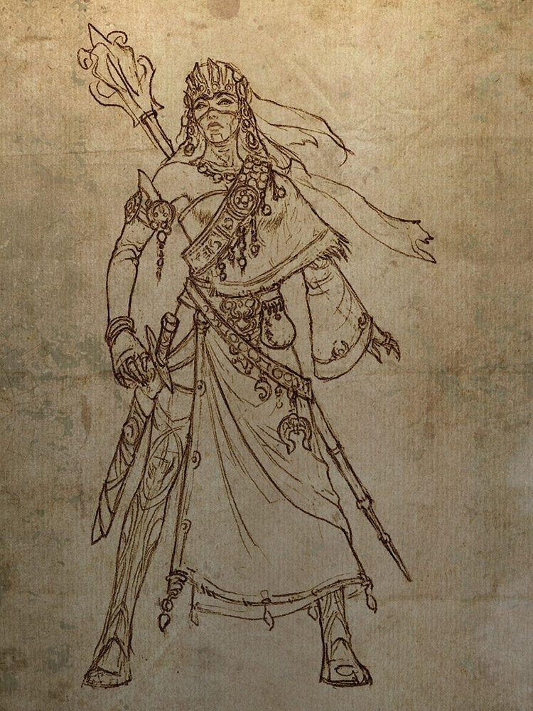 Diablo III 100 Concept Art Collection Illustration