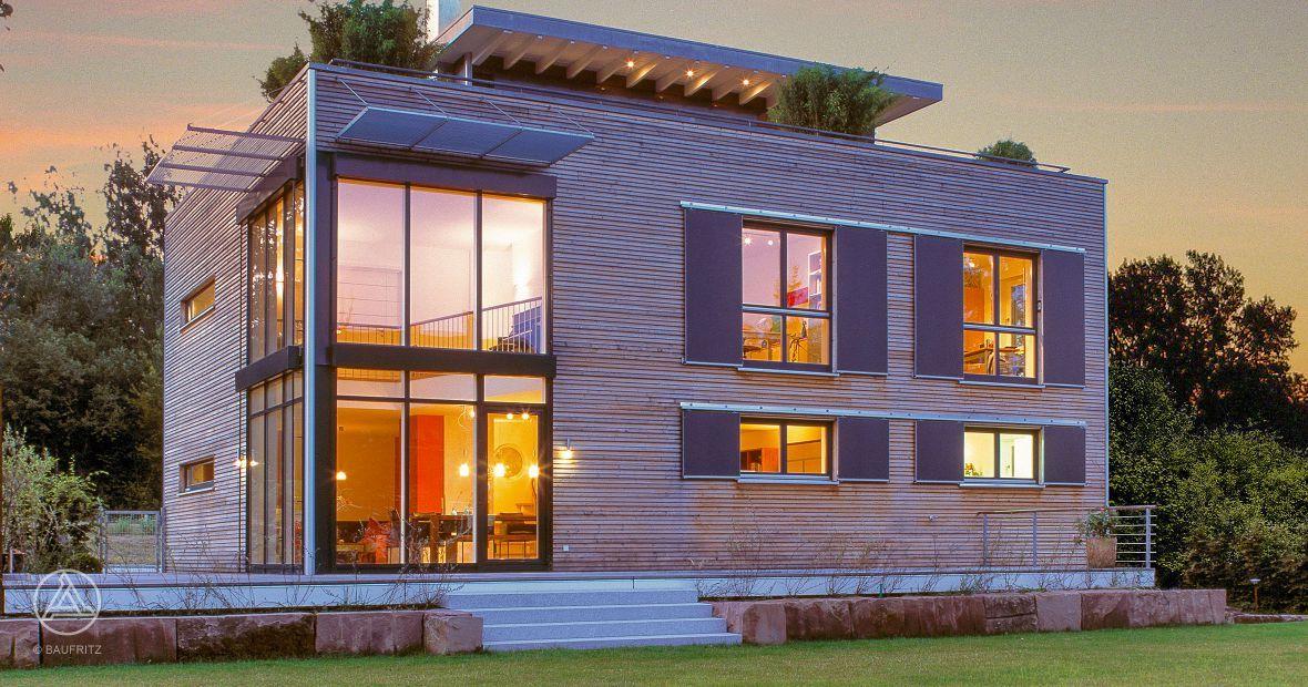 Bauhaus Baustil bauhaus architektur mit credo holzverschalung bauhaus modern living