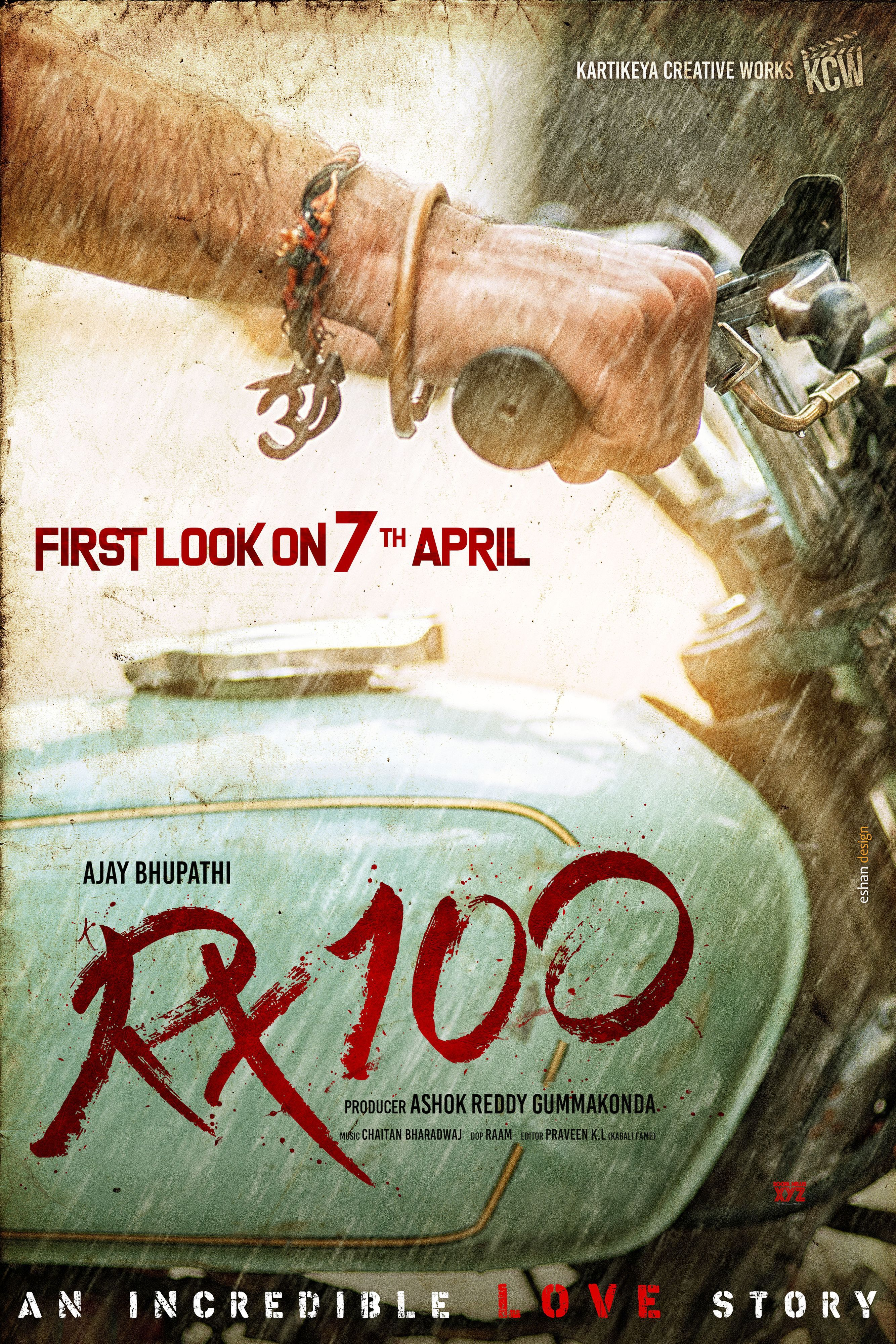 Rx 100 Movie First Look On April 7th Download Movies Full