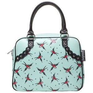 Sparrow Bowler BAG Swallow Rockabilly Gothic Kitsch Retro Punk | eBay