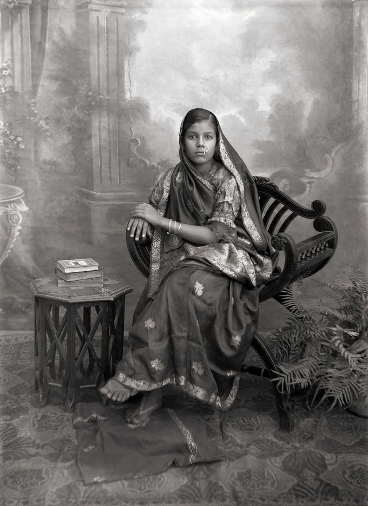 Vintage Studio Portraits Of Indian Women From The Peak British