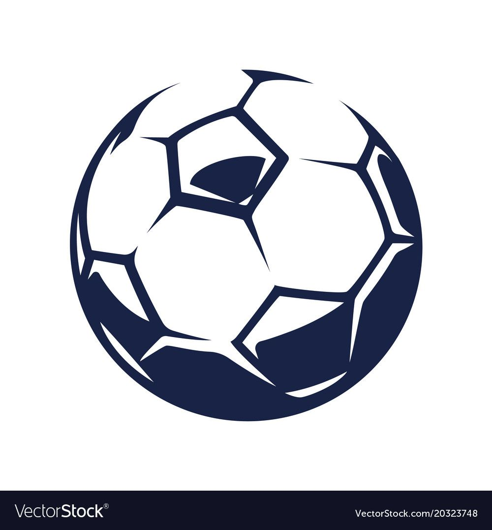 Soccer Ball Vector Image On Vectorstock Business Icons Vector Vintage Frames Vector Black And White Graffiti