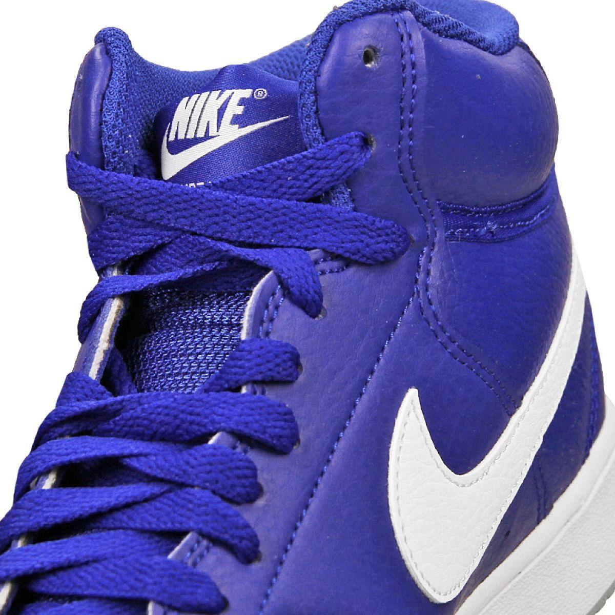 Buty Nike Court Vision Mid M Cd5466 400 Niebieskie Nike Blue Shoes Mens Nike Shoes