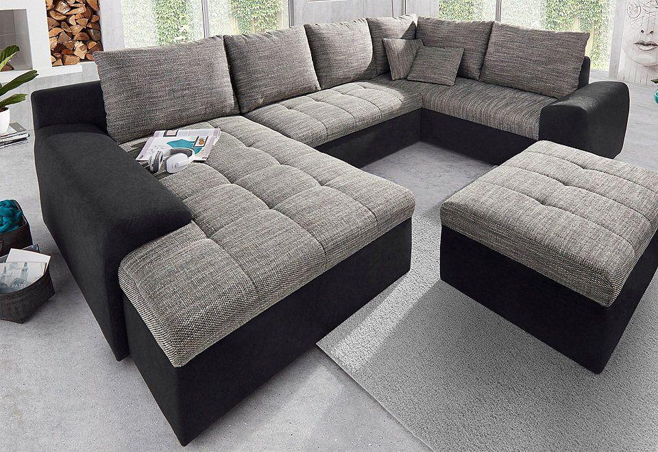 Sit  More Wohnlandschaft mit Ottomane und Bettfunktion Jetzt - big sofa oder wohnlandschaft