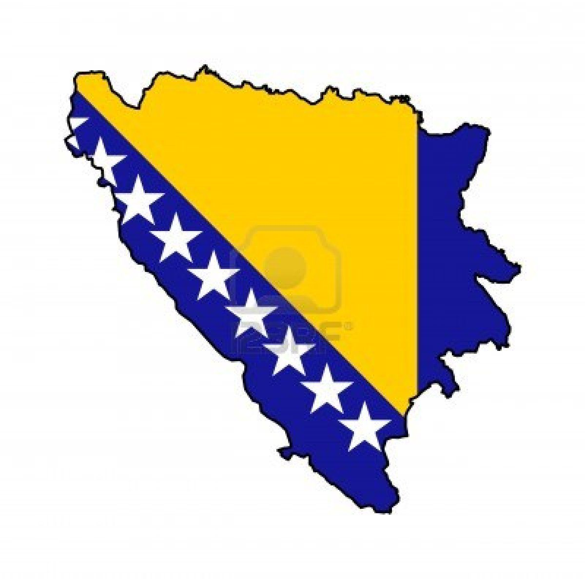 Bosnia And Herzegovina European Flags Herzegovina Flag